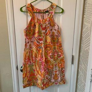 J.Crew Halter Dress in Paisley Print in Size 4